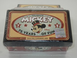 Mickey Mouse 75 Years Of Fun Collectible Filmography Cards  SEALED - $24.74