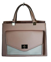 NWT Kate Spade Chantelle Walter Place Handbag in Soft Rose and Cream - $133.65