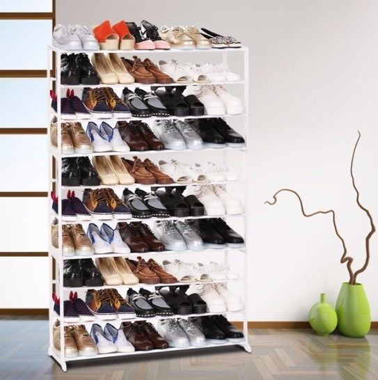 Primary image for Home Portable 4/7/10 Tier Shoes Rack Stand Shelf Shoes Organizer Storage