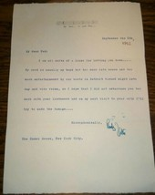 "RUDY VALLEE  AUTOGRAPH  Signed Typed 1952  letter ""I am all sorts of a l... - $44.55"