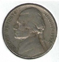 1952 - P  JEFFERSON NICKEL - In Holder - $5.95