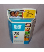 HP 78 Tri Color Ink Inkjet Print Cartridge Expired Nov 2007 New Factory ... - $13.99