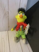 H4 Burt 5 inch Intact Sesame Street Plush red scarf - $17.81
