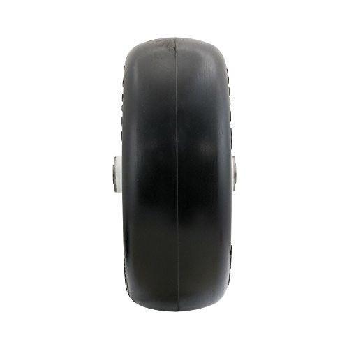 Lightweight Flat Free ZTR Mower Air Filled Tire And Solid Steel Wheel Assemblies