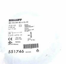 NEW BALLUFF BES 516-544-BO-H-PU-03 PROXIMITY SENSOR 10-55VDC 5-200MA 4MM, 551746