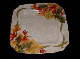 Autumn Celebrations Dinner Plates set of 4 by 222 Fifth New Beautiful - $49.99