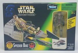 Kenner 1997 Star Wars Expanded Universe Speeder Bike w/Rebel Pilot NEW - $19.95