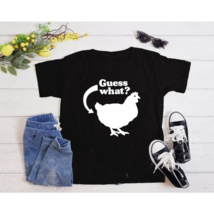 Guess What Chicken Butt T-Shirt Funny Ironic Offensive Humor Tee T-Shirt - $27.11+