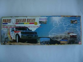 Bandai Paris Dakar Board Game 1990 Vintage Unused Japan - $199.99
