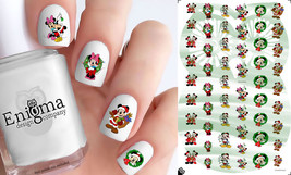 Mickey & Minnie Christmas Nail Decals (Set of 54) - $4.95