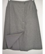 DIANE VON FURSTENBERG Fully Lined Gray SKIRT Size 8 - $9.99