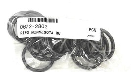 LOT OF 20 NEW 0672-2802 O-RINGS 06722802