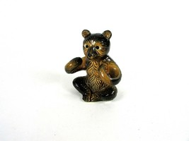 "Vintage Brown Bear "" SALT & PEPPER "" Kitchen Table Decorative Curl Arms ... - $5.61"