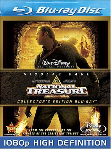 Disney National Treasure (Blu-ray Disc, 2008, Collector's Edition)