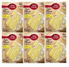 Betty Crocker Super Moist Lemon Cake Mix 6 Pack - $30.64
