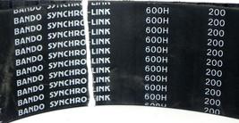 """BANDO 600H200 SYNCHR-LINK TIMING BELT 600H 200, 60"""" LENGTH 1/2"""" PITCH 2"""" WIDE image 2"""