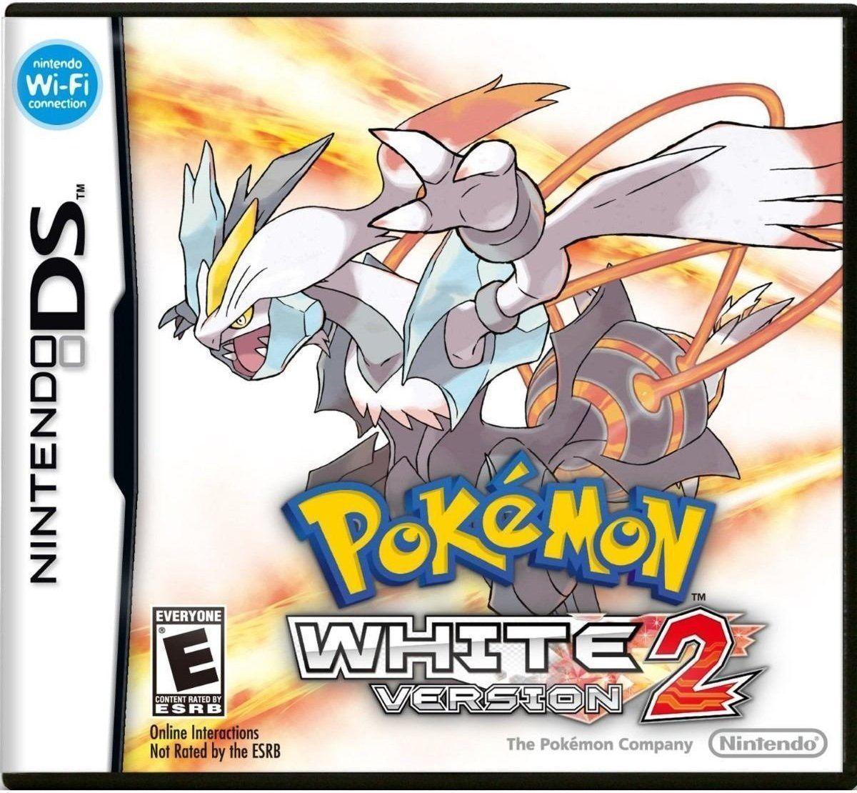 Pokemon White Version 2 Nintendo DS Video Game [Used Good]