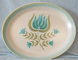Franciscan Tulip Time Large Oval Platter - $29.59