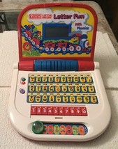 VTech Little Smart LETTER FUN WITH PHONICS Electronic Educational Laptop - $52.25