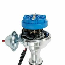 Ford Fe V8 Pro Series Distributor Ready to Run Blue image 4