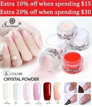 Saviland Glitter Dipping Powder Nail Art Gradient French Dip Powder Colo... - $11.11