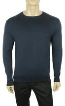 Polo Ralph Lauren Crew Neck Zig Zag Navy Pima Cotton Pullover Sweater S $115 - $49.99