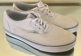 Vans Off The Wall White Canvas Low Skate Shoes Women's Size 11 - $27.77