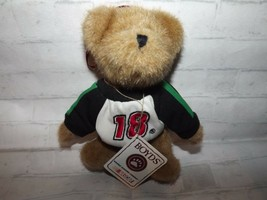 "Boyds Bears Racing Famiiy #18 Nascar Bobby LaBonte Ornament 6"" T Tan Plush Bear  - $10.67"