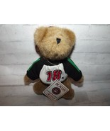 "Boyds Bears Racing Famiiy #18 Nascar Bobby LaBonte Ornament 6"" T Tan Plu... - $10.67"