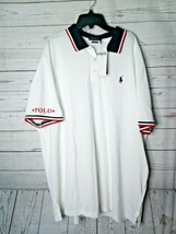 Nwt Polo Ralph Lauren Pony Polo Shirt White Classic Fit Xxl Msrp $89.50 - $59.99
