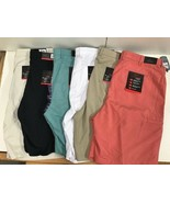 Greg Norman Mens Shark Attack Golf Athletic Stretch Shorts - $23.99