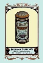 Golden Bath Powder by Buedingen Box & Label Co. - Art Print - $19.99+