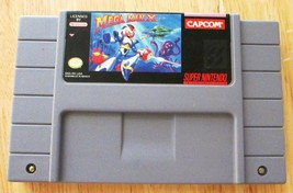 Mega Man X - SNES Super Nintendo Game - Tested Working Authentic - $50.00