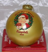 CAMPBELLS Kids -2002 Happy Holidays CHRISTMAS ORNAMENT- Collectors Editi... - $4.95