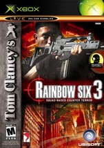 Tom Clancy's Rainbow Six 3  Xbox - $16.89
