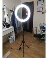 """New 12"""" LED Selfie Ring Studio Light w/ Wireless Remote Shutter - $39.59"""