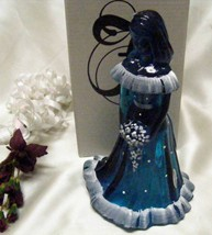 3071 Fenton Snow On Twilight Blue Bridesmaid Doll - $99.50