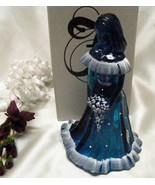 3071 Fenton Snow On Twilight Blue Bridesmaid Doll - $130.00