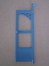 Fisher Price Loving Family Dollhouse Replacement Blue Right Door - $2.96