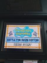 Nintendo Game Boy Advance GBA SpongeBob: Battle For Bikini Bottom - $10.00