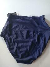 Island Escape Navy Swimwear Shorts Size 12 image 2