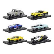 Drivers 6 Cars Set Release 55 in Blister Packs 1/64 Diecast Model Cars by M2 Mac - $56.99