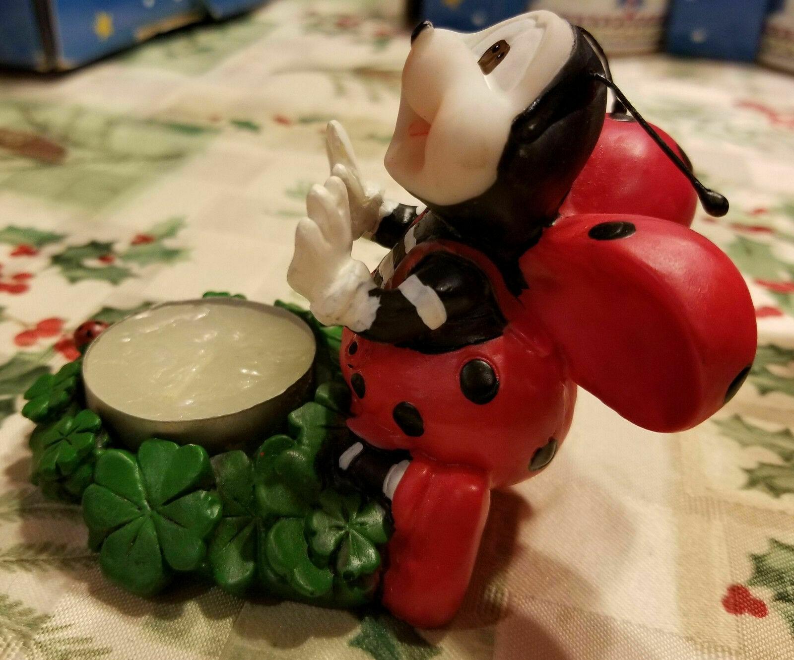 Ladybug Tealight Votive Candle Holder