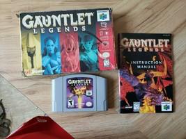 Gauntlet Legends (Nintendo 64, 1999) Complete. Cib. Free Shipping. Rpg. Rare - $98.99