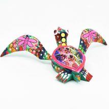 Handmade Alebrijes Oaxacan Copal Wood Carving Painted Folk Art Sea Turtle Figure image 4