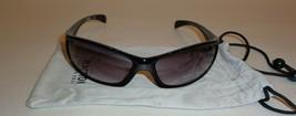 Kenneth Cole Reaction KC1058 Black Wrap Wraparound New Mens Sunglasses - $98.01
