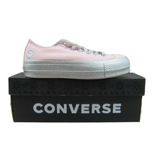 Converse CTAS Miley Cyrus Womens Size 8 Lift OX Low Pink Glitter 562237C NEW - $59.35