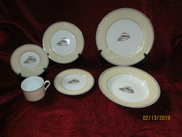 Fitz & Floyd Coquillier 6 piece place setting motif C - $79.15