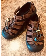 KEEN Brown Unisex H2O Water Sports Sandals Sz 5  #191 - €16,50 EUR