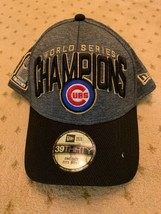 Brand New Chicago Cubs 2016 World Series Champions Hat Cap New Era 39 Th... - ₹1,322.77 INR